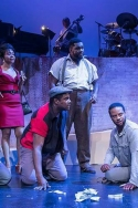 Elijah Rock as 'Porgy' in Porgy and Bess at the Ensemble Theatre